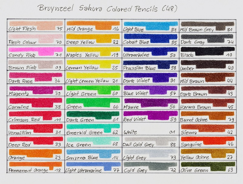 COMPRAR CAJA 48 LAPICES COLORES BRUYNZEEL DESIGN