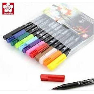 COMPRAR SET 12 ROTULADORES KOI COLORING BRUSH PEN