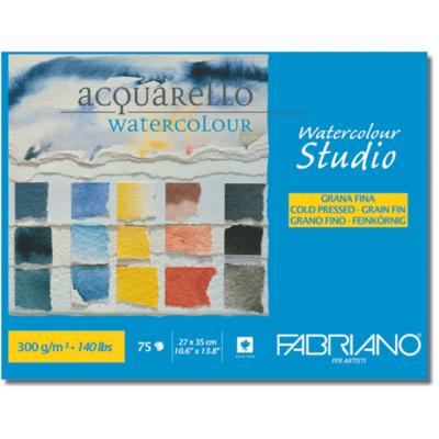 COMPRAR BLOC PARA ACUARELA STUDIO FABRIANO 27X35 300GMS