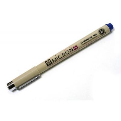 Rotulador calibrado Pigma Micron 05 azul Sakura