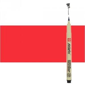 Rotulador punta pincel Pigma Brush rojo Sakura