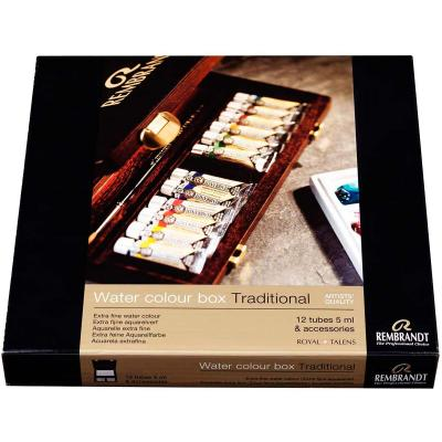 Tradicional-caja-madera-acuarela-rembrandt