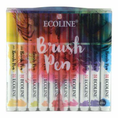 Comprar Ecoline Brush Pen set de 20