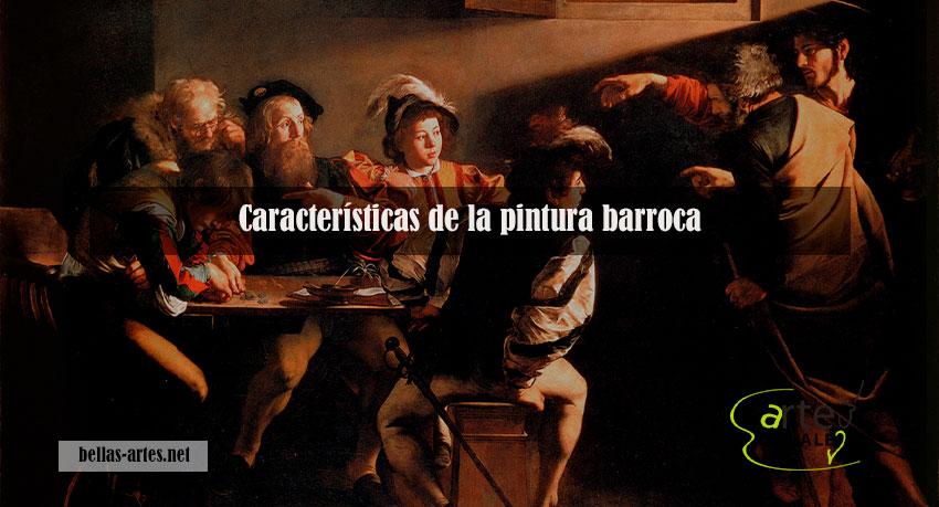 características-de-la-pintura-barroca