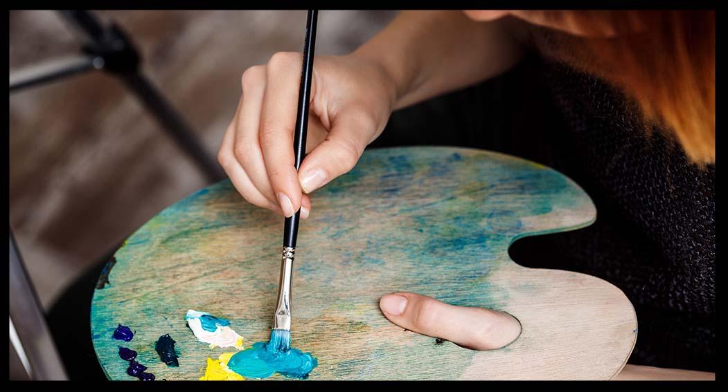 materiales para pintar al oleo