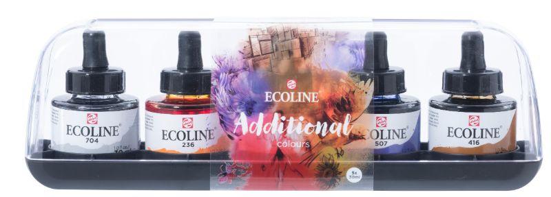 ECOLINE EST.COLORES ADICIONALES 5X30ML